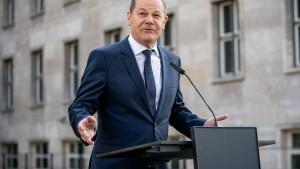 Scholz hofft noch vor Ostern auf EU-Einigung