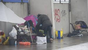 Mehr Gewalt gegen Obdachlose
