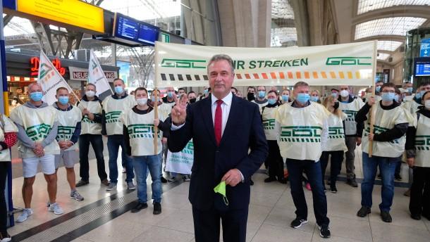 Lokführer-Streik geht vorerst weiter