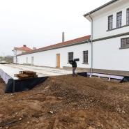 Schleppend: Der Umbau des ehemaligen Sarotti-Werksgebäudes zum Stadtmuseum dauert deutlich länger, als ursprünglich vorgesehen war.