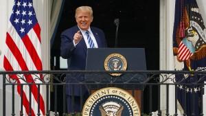 Trump hält sich für immun gegen das Coronavirus