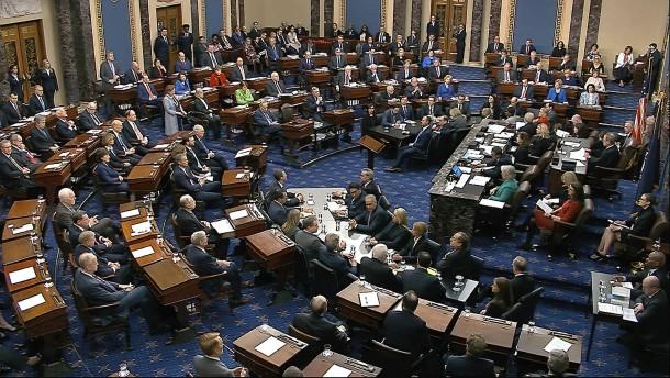 Senat spricht Trump von allen Vorwürfen frei