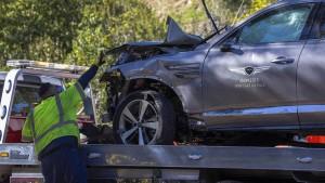 Tiger Woods erleidet schweren Autounfall