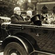 Young-Plan sei Dank: Reichspräsident Paul von Hindenburg bei Feierlichkeiten zum Abzug französischer Truppen im Rheinland. 30.06.1930