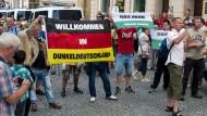 Bundespräsident Gauck schlägt blanker Hass entgegen