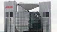 Die Deka-Zentrale in Frankfurt