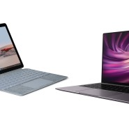 Microsoft Surface Go 2 und Huawei Matebook X Pro
