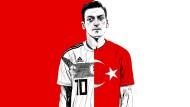 """Özil schreibt auf Twitter: """"Ich habe zwei Herzen, ein deutsches und ein türkisches."""""""