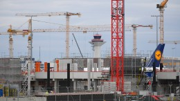 Terminal 3 wird trotz Corona-Krise weitergebaut