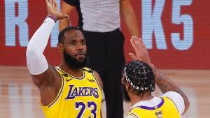Lakers dominieren Miami Heat