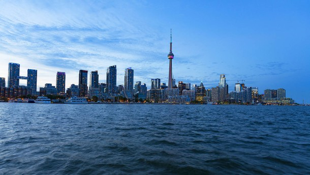 Börsianer in Toronto glauben an Donald Trump