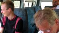 Entführte Bergsteiger in Bayern erwartet