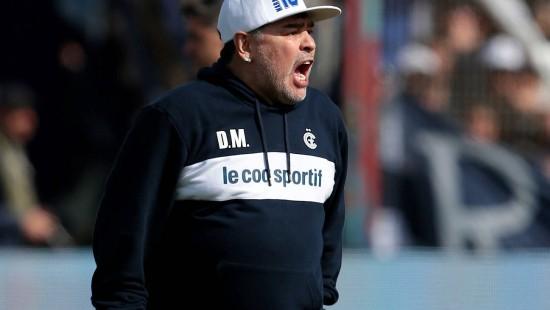 Maradona ist Trainer von argentinischem Erstligaklub