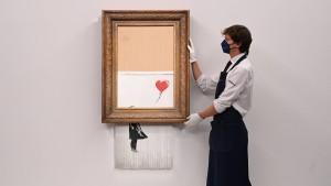 Banksys Eimer