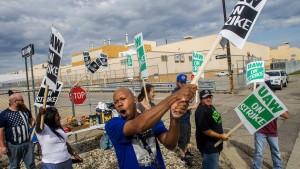 Arbeiter bei General Motors streiken