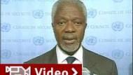 Annan erwartet kein Ende der Gewalt im Irak