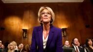 Die neue amerikanische Bildungsministerin Betsy DeVos
