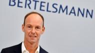 Erfolgreiche Spitze: Bertelsmann-Chef Thomas Rabe