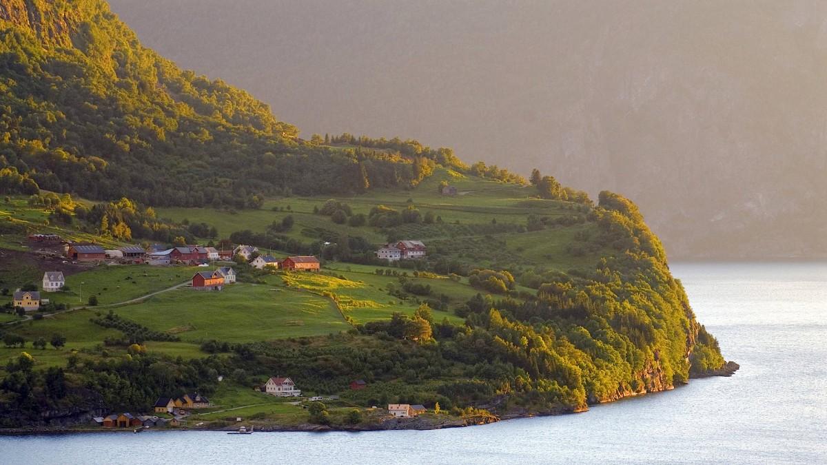 Schaut nach Norwegen