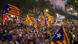 Separatisten erinnern an gescheitertes Referendum
