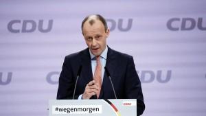Friedrich Merz verkündet Bewerbung für Bundestagsmandat