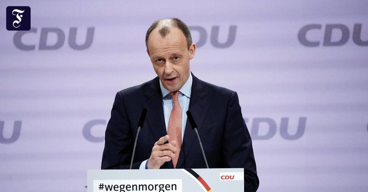Friedrich Merz verkündet Bewerbung für Bundestagsmandat - FAZ - Frankfurter Allgemeine Zeitung
