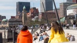 Hamburg öffnet Außengastronomie und Einzelhandel