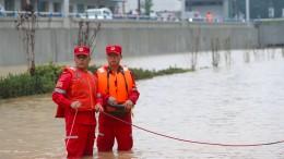 Nothilfe für China angekündigt