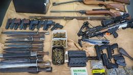 Polizei nimmt  mutmaßlichen Waffennarr fest