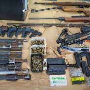 """Beachtliche Sammlung: """"Waffennarr"""" aus Hessen ist der Polizei bereits bekannt."""
