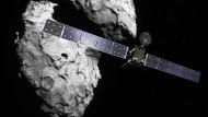 Trauriger Abschied von einer langjähriger Gefährtin: das Ende der Rosetta-Mission