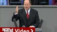 Steinbrück warnt vor Euphorie