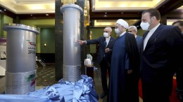 Iran verkündet Uran-Anreicherung auf 60 Prozent