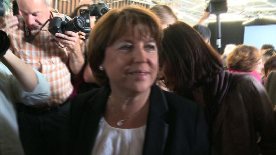 Aubry will Präsident Sarkozy ablösen
