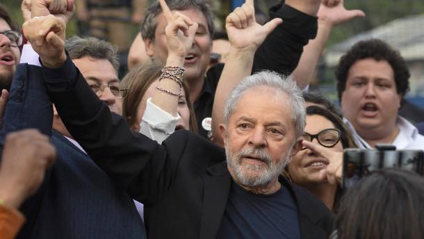 Urteile gegen ehemaligen Staatschef Lula aufgehoben