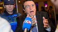 Syrische Opposition droht mit Abbruch der Friedensgespräche