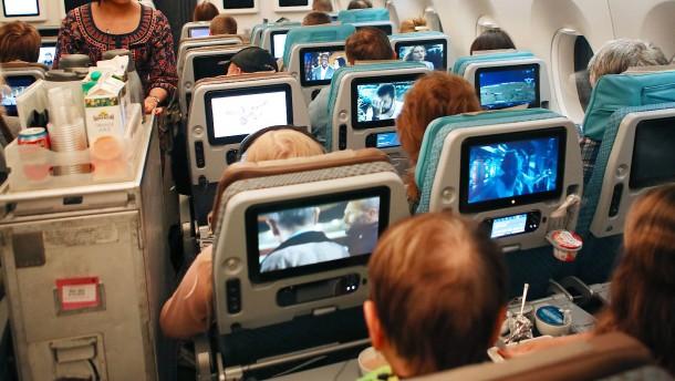 Fluggesellschaft kann Betrunkene stehen lassen