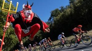 Pelzmäntel und Weicheier im Radsport