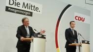 Erster Tag im Adenauer-Haus: Laschet ist der neue Chef, doch Merz stets dabei