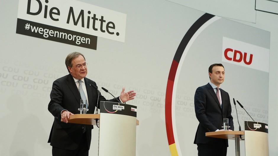 Armin Laschet ist der neue Chef im Konrad-Adenauer-Haus