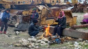Tausende Zivilisten stecken immer noch in Aleppo fest