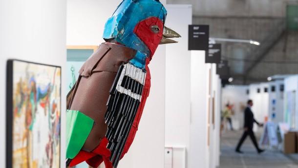 "Die ""Positions Berlin Art Fair"" will Flagge zeigen"