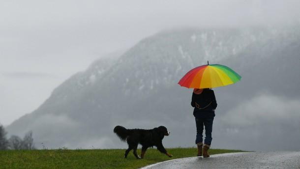 Dauerregen und Tauwetter sorgen für Überschwemmungen