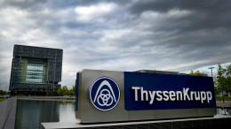 Thyssen-Krupp streicht weitere 5000 Stellen