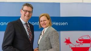 Faeser ist neue Vorsitzende der SPD-Landtagsfraktion