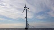 Vor Dänemark kostet der Ausbau der Ökoenergie weniger.