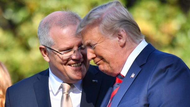 "Australiens Premier nennt Trump-Telefonat ""ereignislos"""