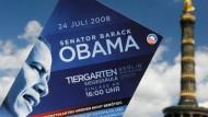 Berlin bereitet sich auf Obama-Besuch vor