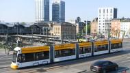 Beliebt: Die Mainzer haben schon gute Erfahrungen mit der neuen Straßenbahn zum Lerchenberg.
