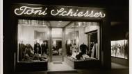 Geschäft und Atelier in Frankfurt waren das Zentrum von Toni Schiessers Imperium.